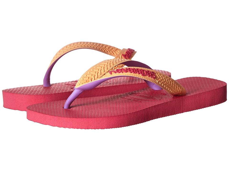 Havaianas Kids Top Mix Toddler/Little Kid/Big Kid Orchid Rose Girls Shoes