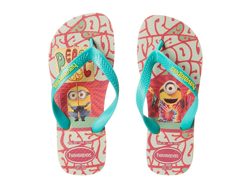 Havaianas Kids Minions Flip Flop Toddler/Little Kid/Big Kid Banana Yellow Kids Shoes