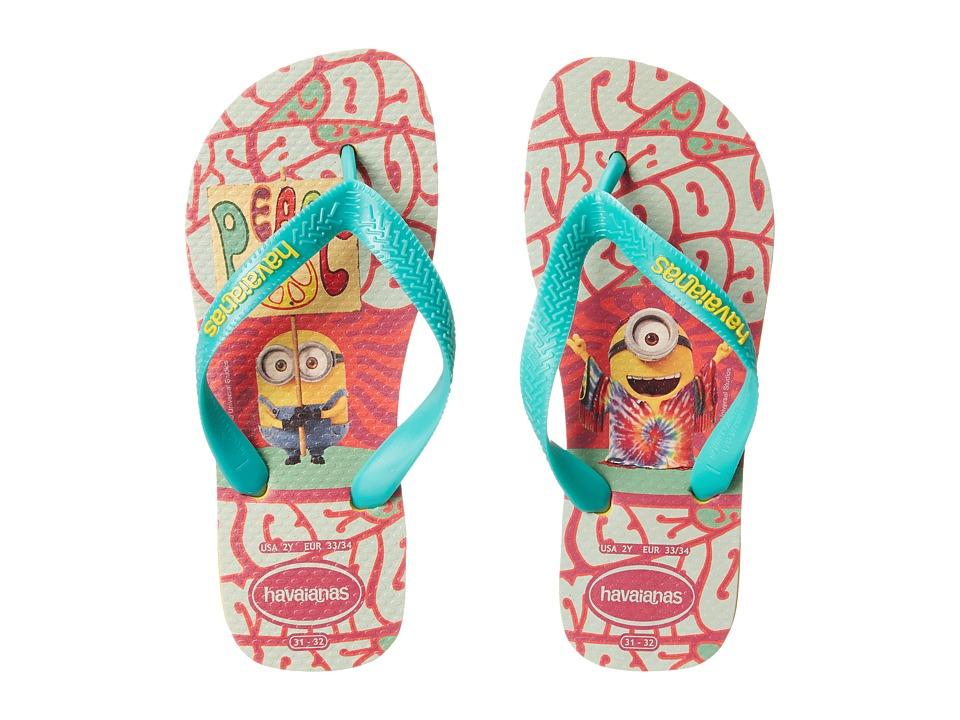 Havaianas Kids Minions Flip Flop Toddler/Little Kid/Big Kid Banana Yellow Kids Shoes