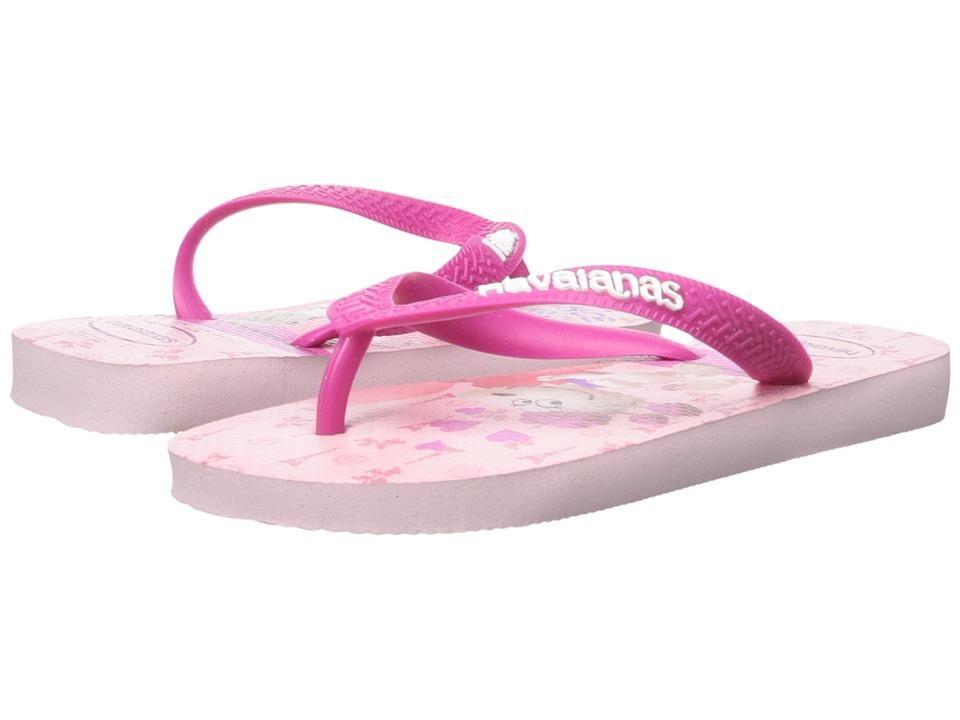 Havaianas Kids Snoopy Flip Flop Toddler/Little Kid/Big Kid Crystal Rose Girls Shoes