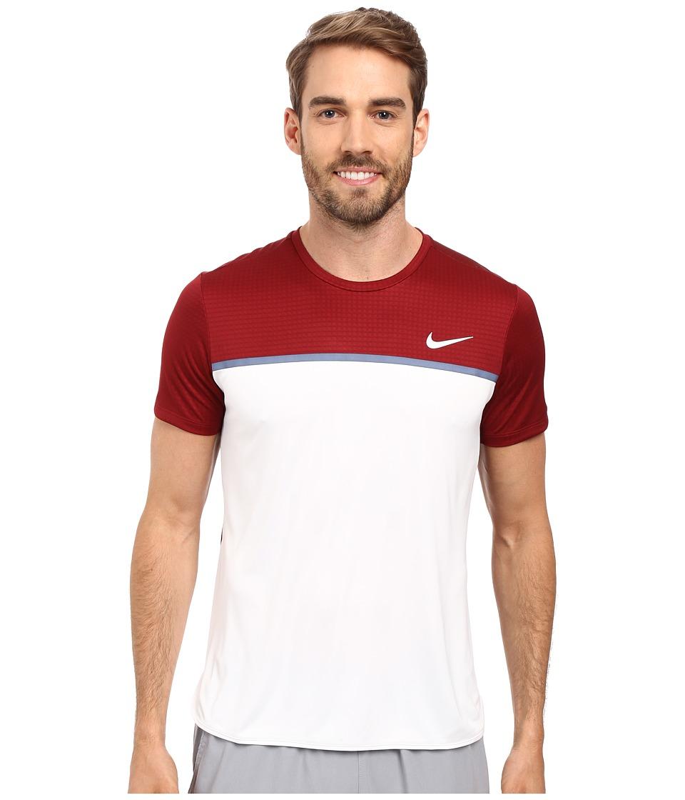 Nike - Challenger Crew (Team Red/White/White/White) Men