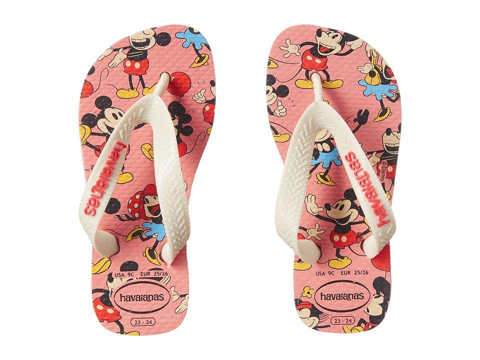Havaianas Kids Disney Stylish Toddler/Little Kid/Big Kid Light Pink Girls Shoes