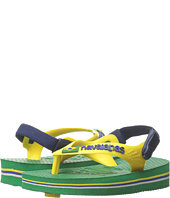 Havaianas Kids - Baby Brasil Logo Flip Flops (Toddler)