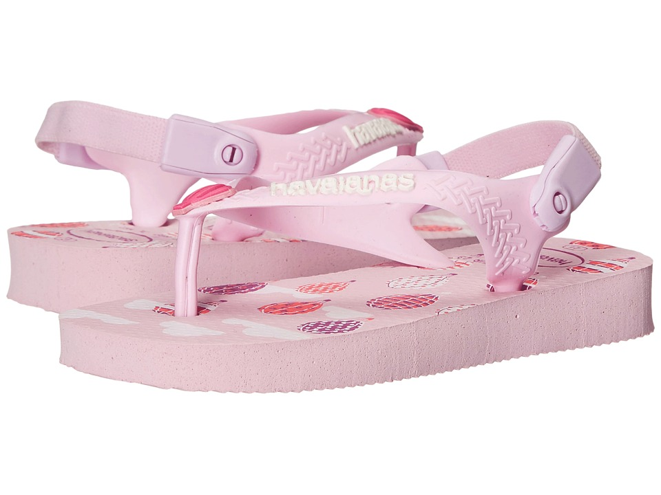 Havaianas Kids Chic Toddler Crystal Rose Girls Shoes