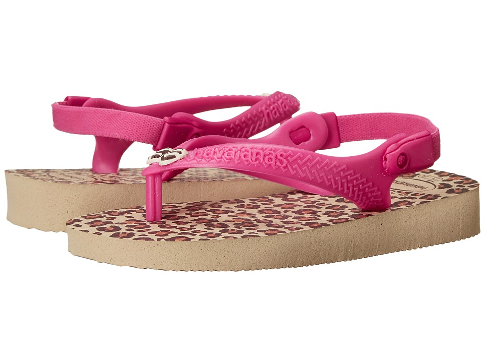 Havaianas Kids Chic Toddler Sand Grey Girls Shoes
