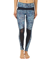 Zobha - Fitted Leggings w/ Contrast Blocking