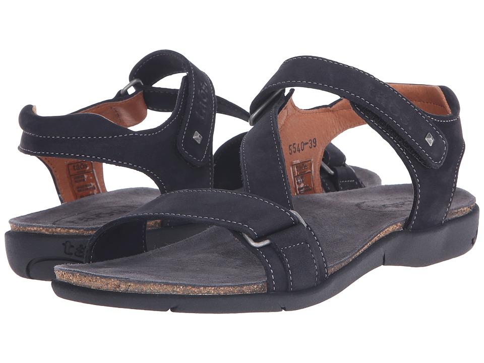 taos Footwear Zeal Black Nubuck Womens Shoes