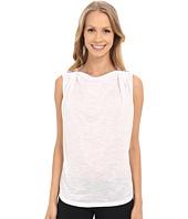 Zobha - Sleeveless Drape Top w/ Zipper Neckline