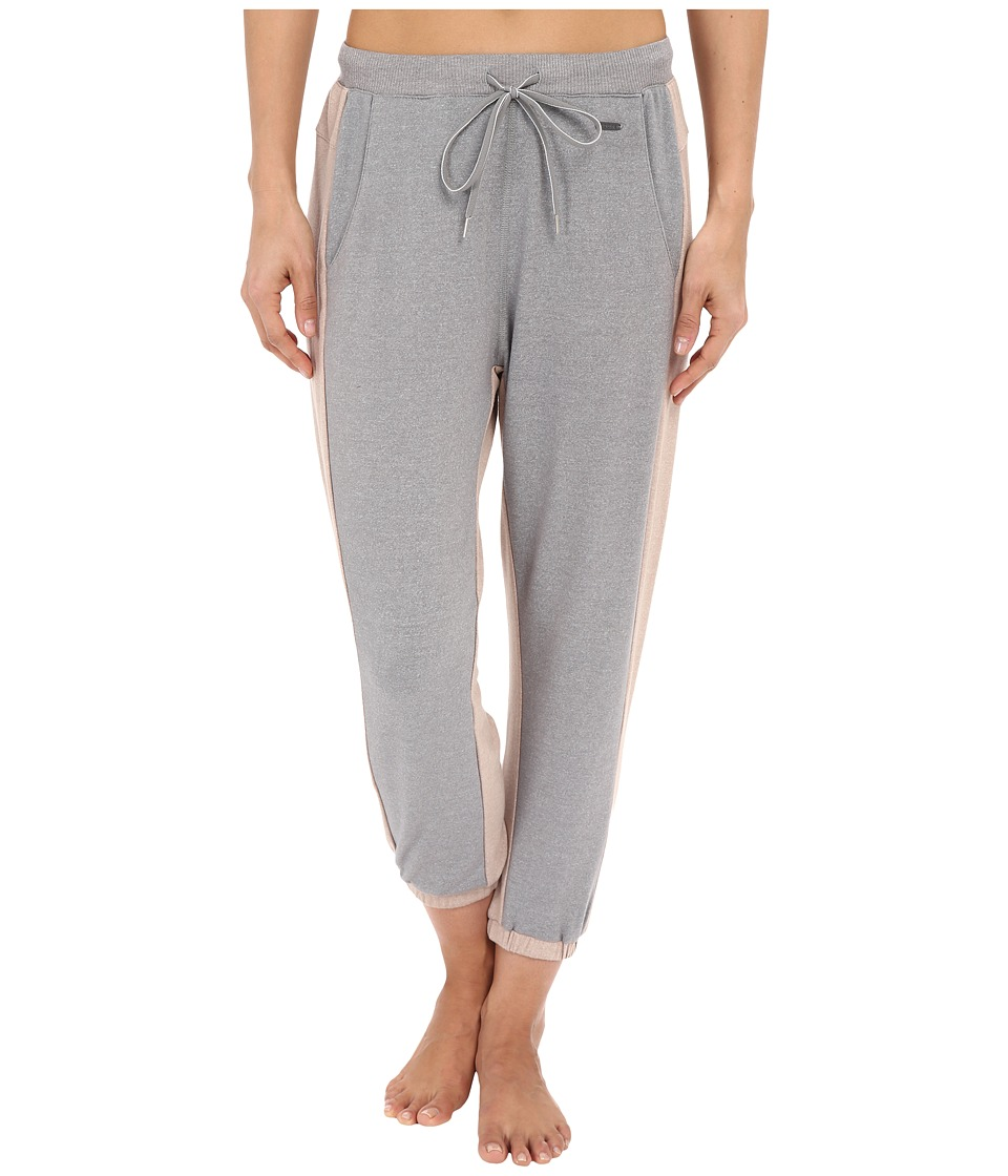 Zobha Jogger Capris w/ Framework Heather Grey Womens Capri