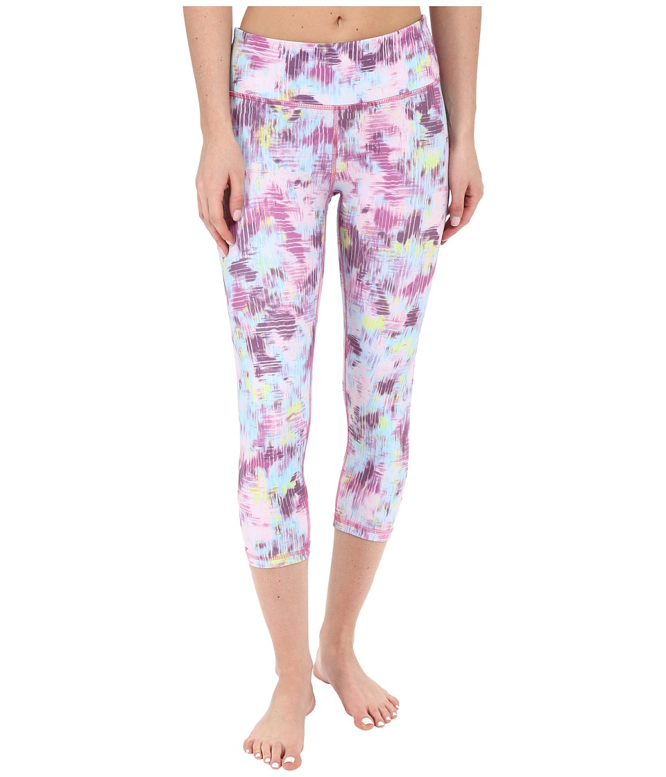 Zobha Louie Printed Straight Leg Capris Sparkling Grape Womens Capri