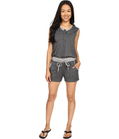 Zobha - Sleeveless Hoodie Jumper w/ Open Cross Back