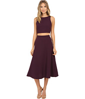 Brigitte Bailey - Constance Crop Tank Top and Mid-Length Skirt Set