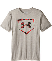Under Armour Kids - Baseball Big Logo Short Sleeve Tee (Big Kids)