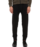 The Kooples - Sport Mix Cotton Fleece & Nylon Pants
