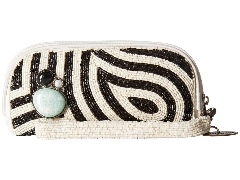 Mary Frances - Wonder Struck (Black/White) Clutch Handbags