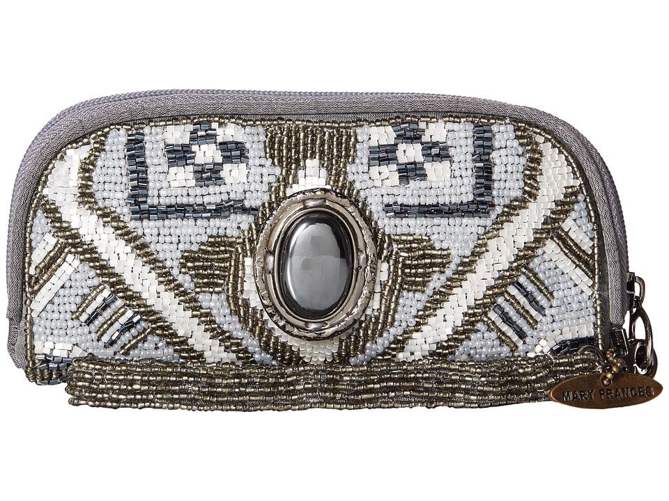 Mary Frances - Magic Carpet (Grey) Clutch Handbags
