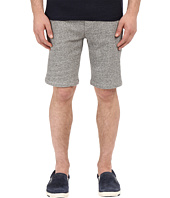 The Kooples - Sport Melange Fleece & Rib Shorts