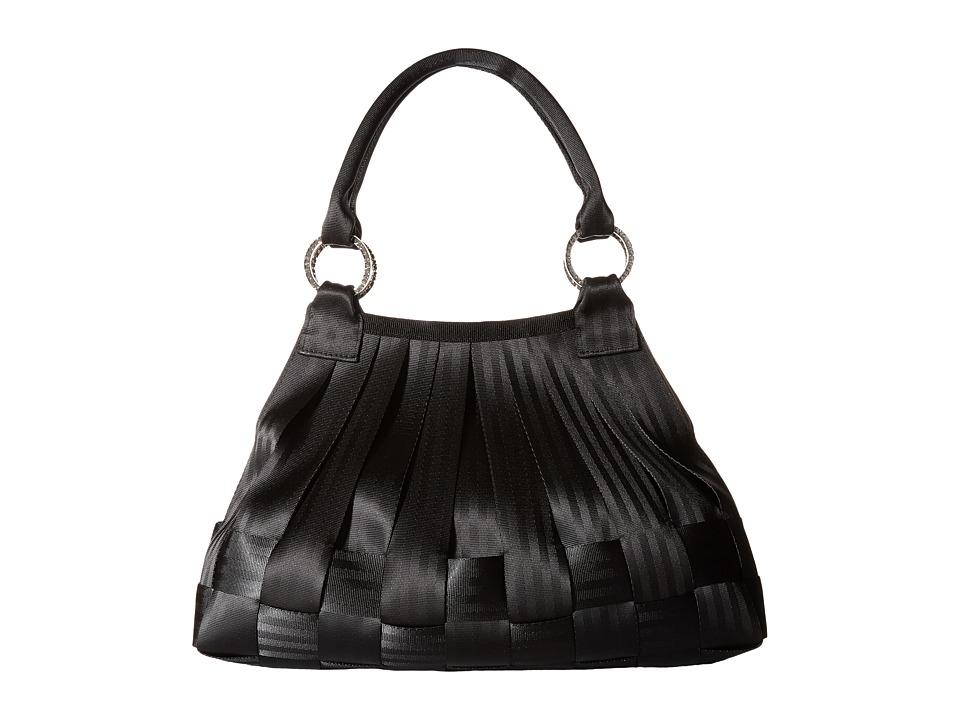 Harveys Seatbelt Bag Large Stella Salvage Black Shoulder Handbags