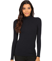 Three Dots - 2x1 Viscose L/S Turtleneck