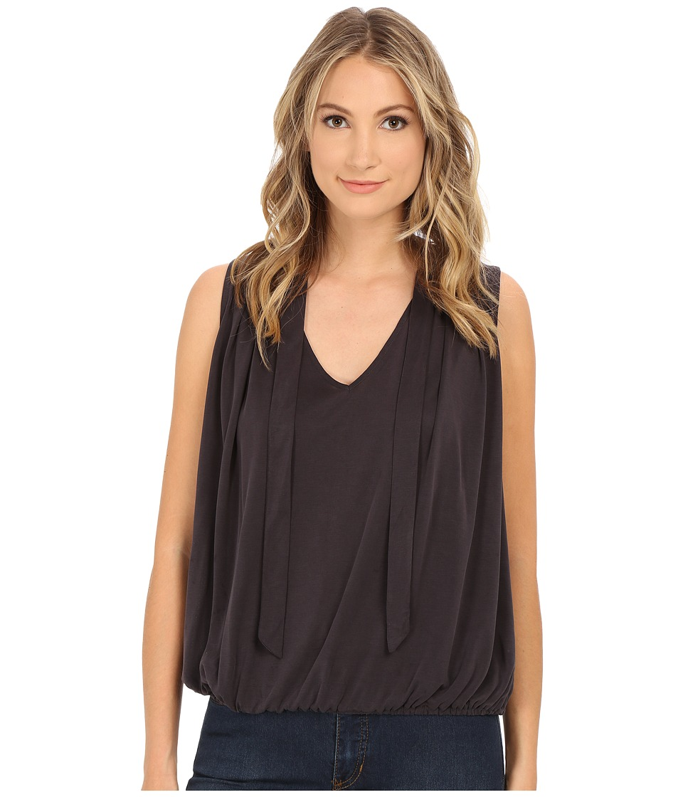 Free People Forget Me Not Tank Top Washed Black Womens Sleeveless
