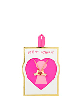 Betsey Johnson - Valentines CZ Hand Heart Pendant Necklace