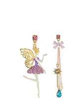 Betsey Johnson - Princess Charming Fairy Non-Matching Earrings