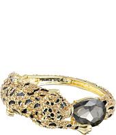 Betsey Johnson - Critters Pave Leopard Hinge Bracelet
