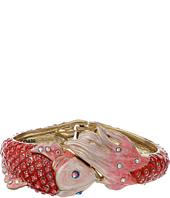 Betsey Johnson - Critters Pave Fish Hinge Bracelet