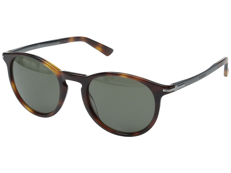 Gucci GG 1110/S Havana Dark Ruthenium/Brown Fashion Sunglasses
