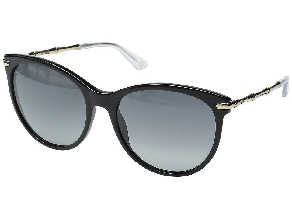 Gucci GG 3771/S Black Gold/Gray Gradient Fashion Sunglasses