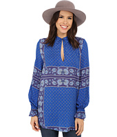 Free People - Rayon Dobby Changing Times Printed Tunic