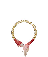 Betsey Johnson - Critters Pave Fish Collar Necklace