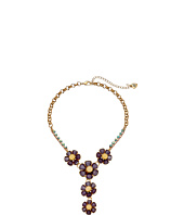 Betsey Johnson - Spring Ahead Flower Y-Necklace
