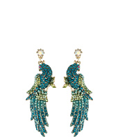 Betsey Johnson - Critters Pave Bird Drop Earrings