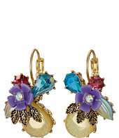 Betsey Johnson - Spring Ahead Flower Drop Earrings
