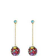 Betsey Johnson - Spring Ahead Dragonfly Drop Earrings