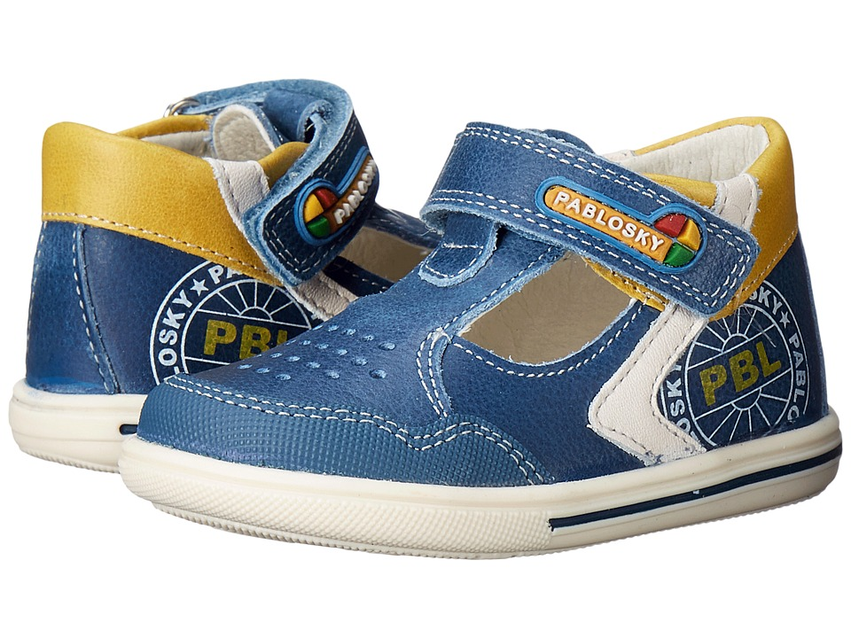 Pablosky Kids 0751 Infant/Toddler Cobalt Boys Shoes