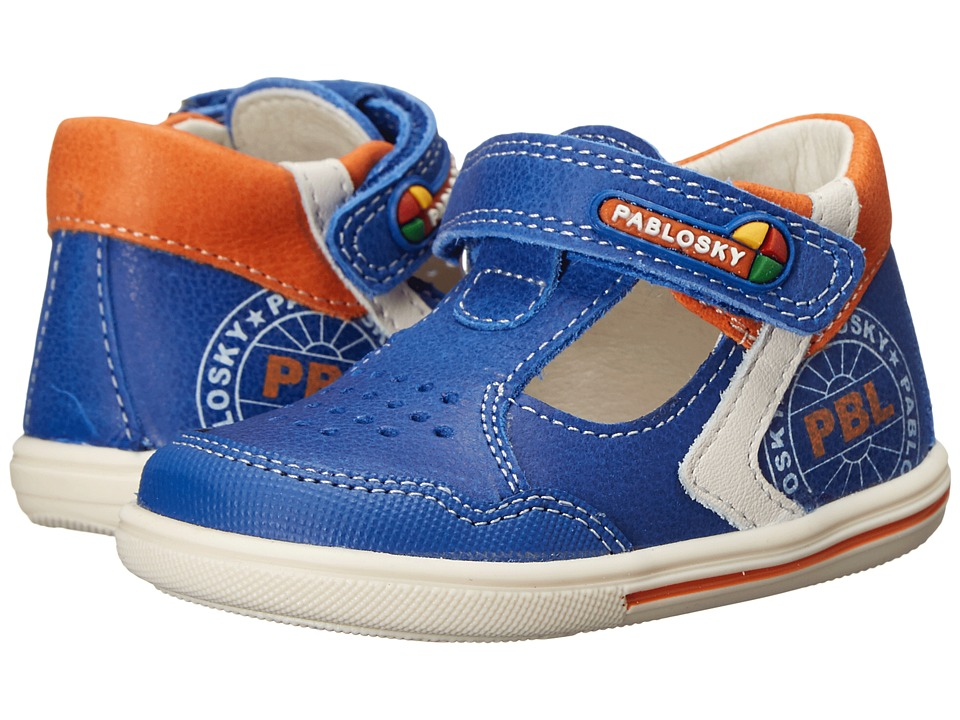 Pablosky Kids 0751 Infant/Toddler Blue Boys Shoes