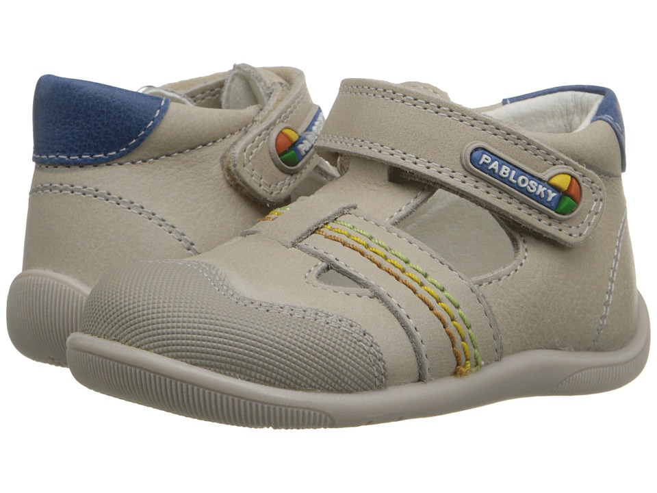 Pablosky Kids 0752 Infant/Toddler Beige Boys Shoes