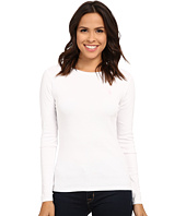 U.S. POLO ASSN. - Long Sleeve Crew Neck 1X1 Baby Rib T-Shirt