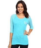 U.S. POLO ASSN. - 3/4 Sleeve Cotton Slub T-Shirt