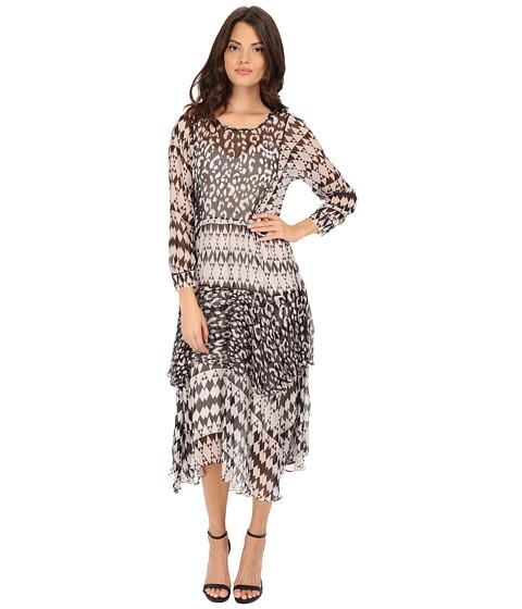 Rebecca Taylor Border Leopard Print Dress