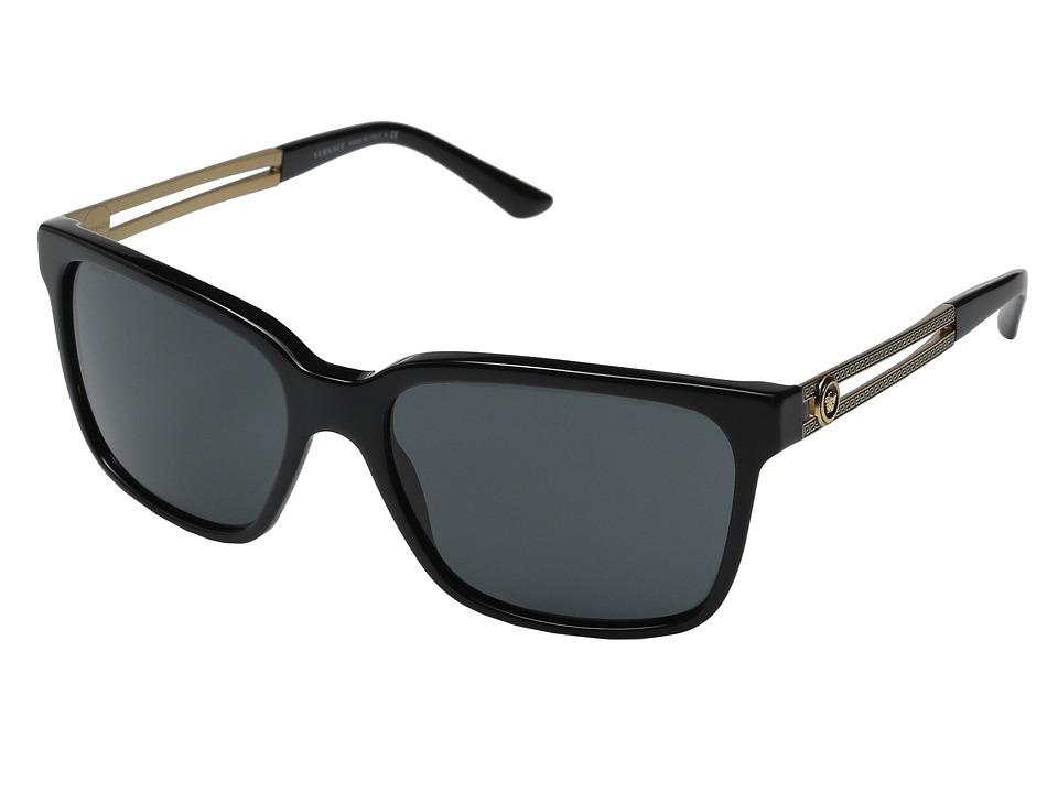 Versace VE4307 Black/Black/Grey Fashion Sunglasses