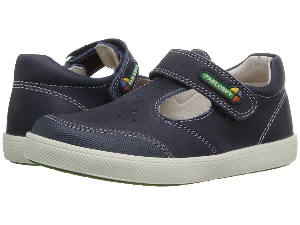 Pablosky Kids 0813 Toddler Navy Boys Shoes