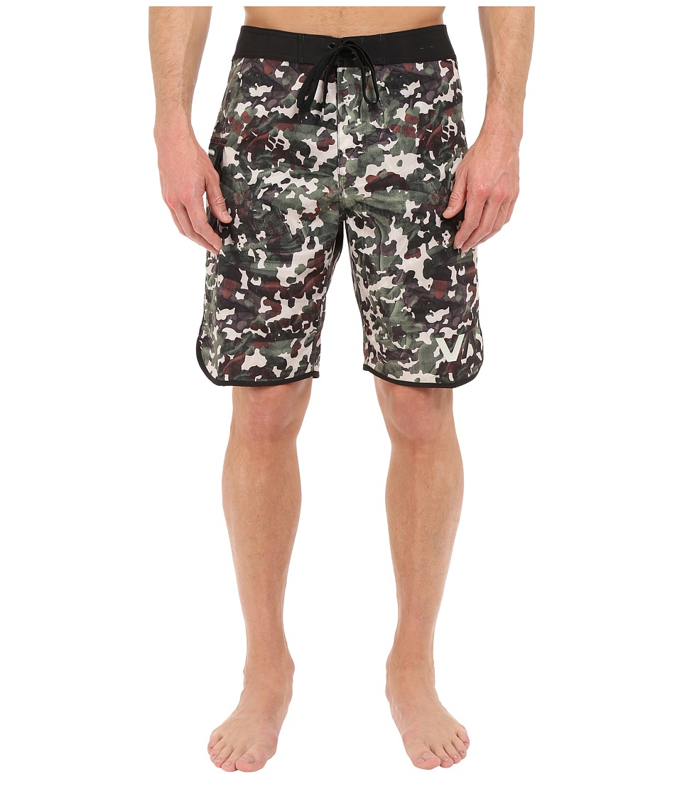 RVCA Barca Trunk Camo Mens Swimwear