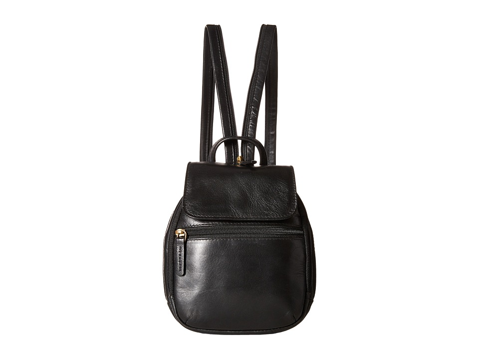 Scully - Hidesign Emma Backpack (Black) Backpack Bags