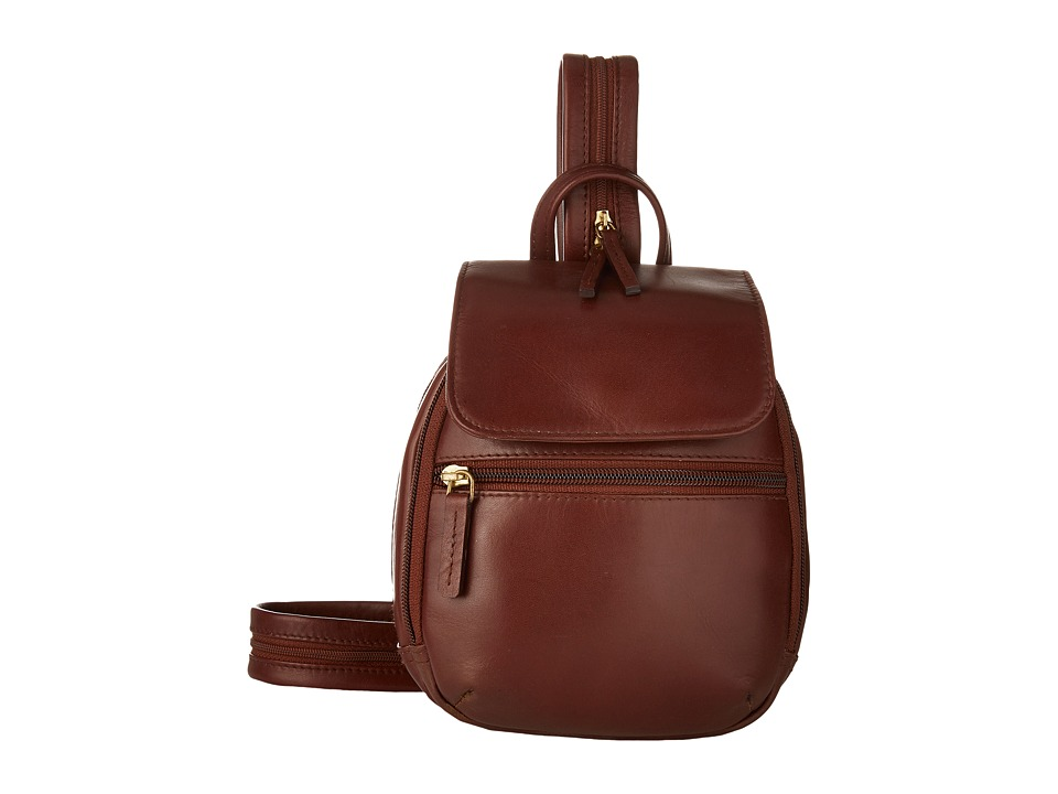 Scully - Hidesign Emma Backpack (Tan) Backpack Bags