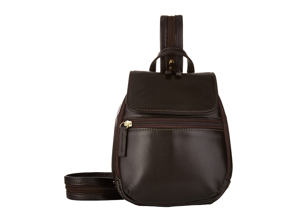 Scully - Hidesign Emma Backpack (Brown) Backpack Bags