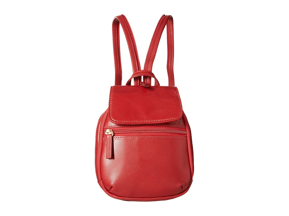 Scully - Hidesign Emma Backpack (Red) Backpack Bags