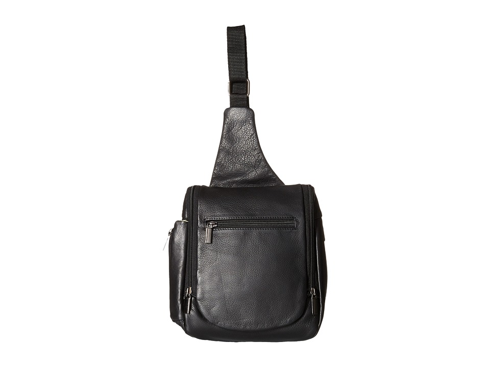Scully - Olivia Travel Sling (Black) Sling Handbags
